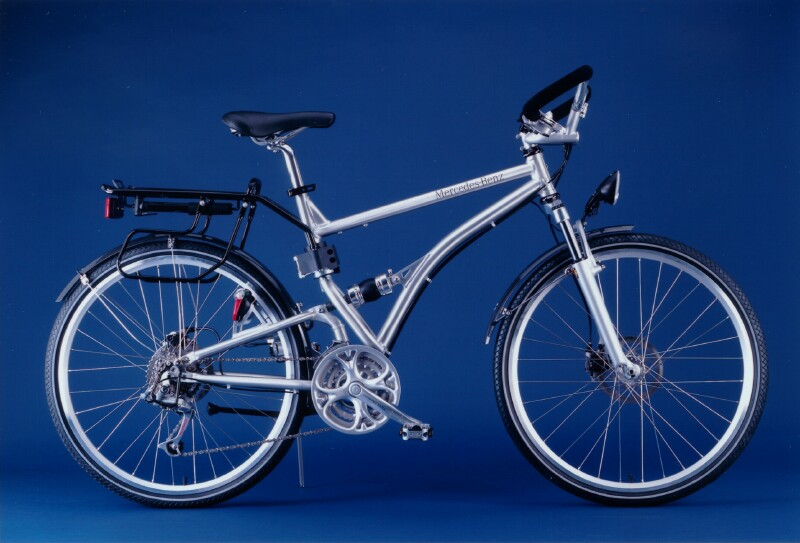Mercedes benz folding bikes for Mercedes benz motorcycle