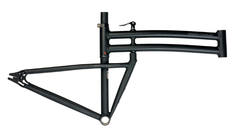 Montague Boston Custom folding bike frameset