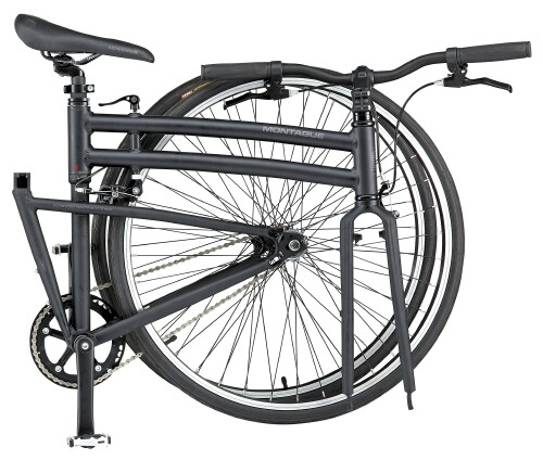 Montague Boston fixie folding bike - folded
