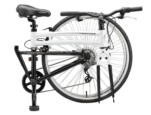 Montague Crosstown folding bike - folded