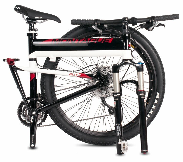 Montague Paratrooper Elite folding bike - folded