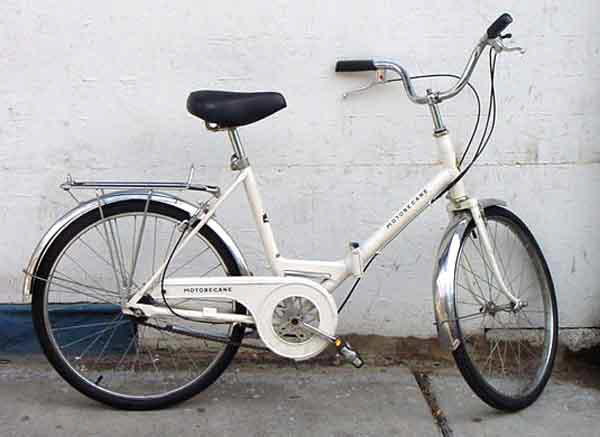 70's Motobecane folding bike