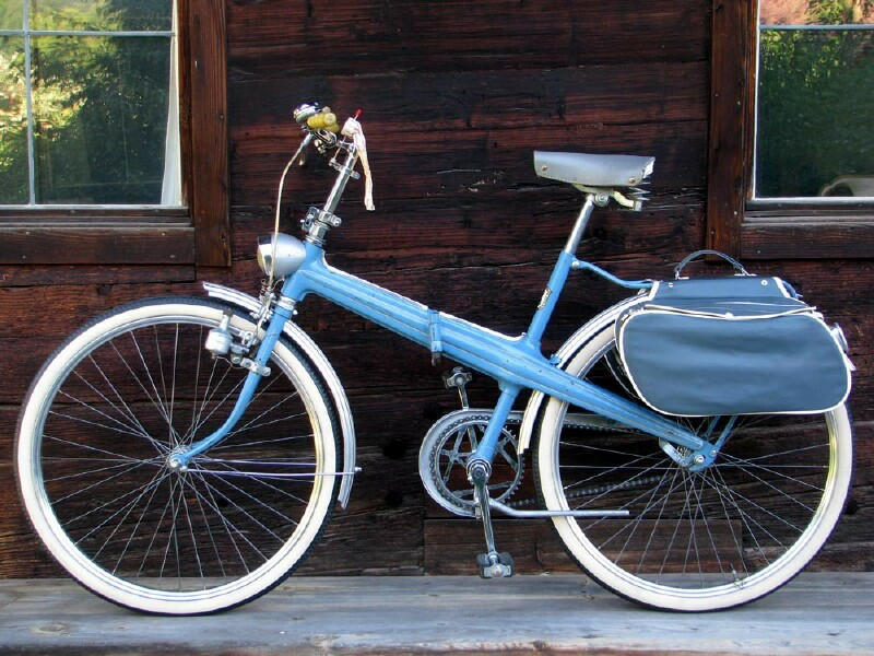 Neckermann folding bike - left side