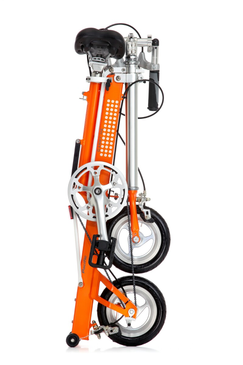 Pacific Cycles CarryMe SD folding bike - folded