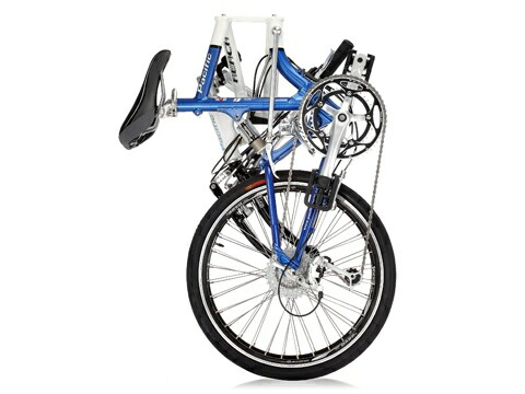 Pacific iF Reach LX folding bike - folded - side