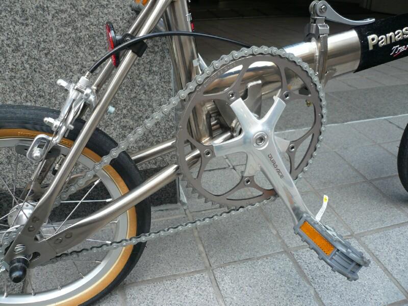 Panasonic Traincle Folding Bike