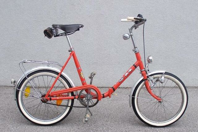 Bike History References in folding bike history