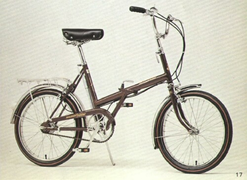 Raleigh Twenty folding bike