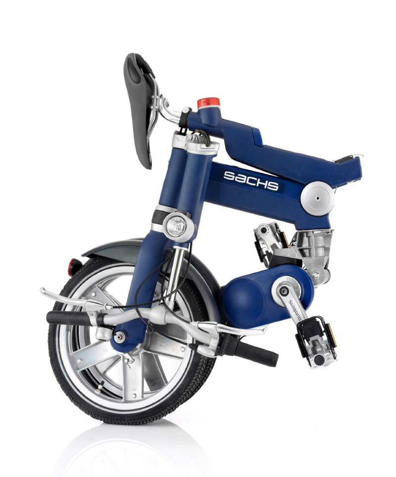 Sachs Tango folding bike - folded