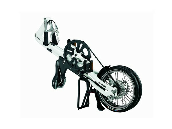 Strida LT folding bike - folded