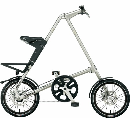 Strida XT folding bike