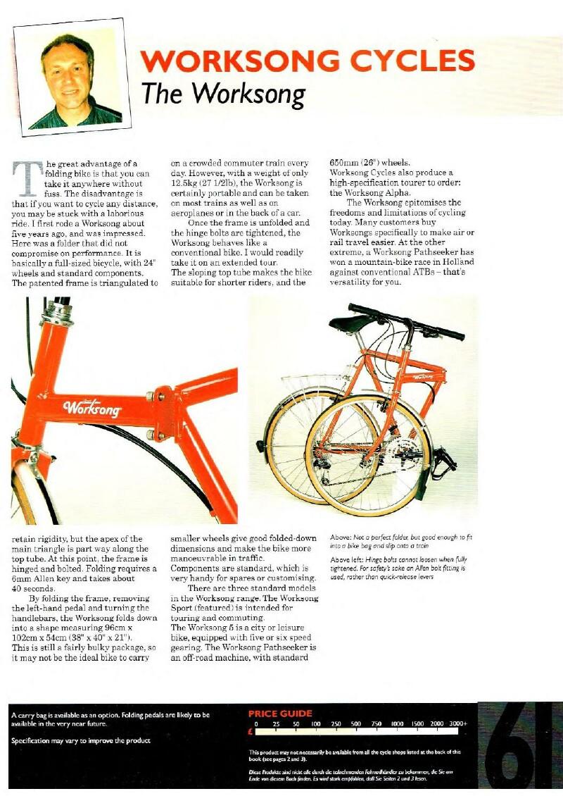 Strutt Worksong folding bike article page 2