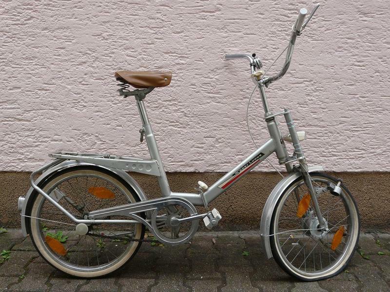 Klapprad - West German 70's folding bikes