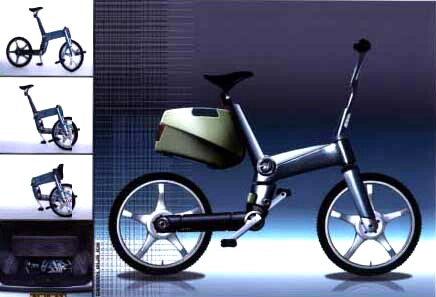 Tango folding bike prototype - Urban Solutions