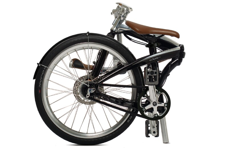 Tern Eclipse S11i folding bike - folded