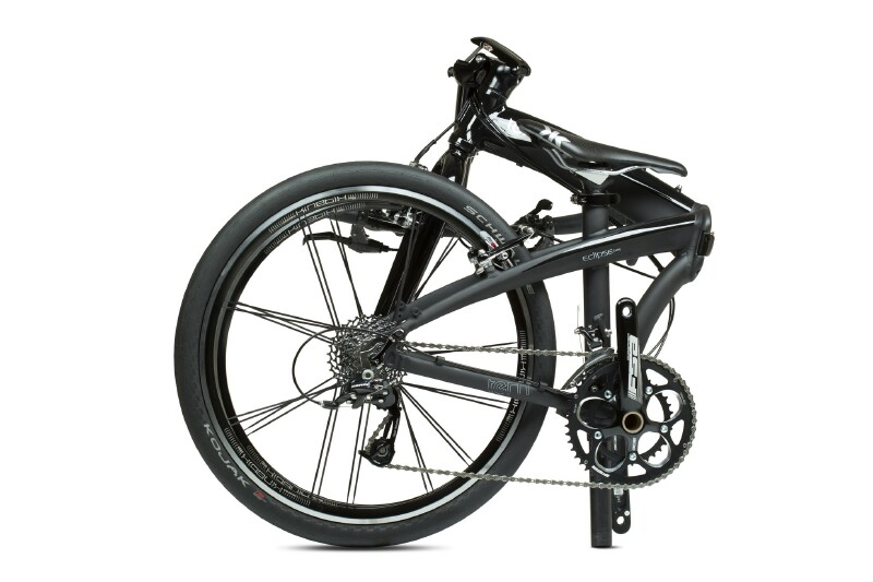 Tern Eclipse X20 folding bike - folded