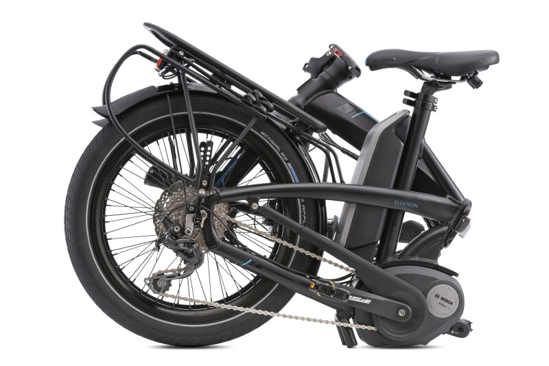 Tern Elektron electric folding bike - folded