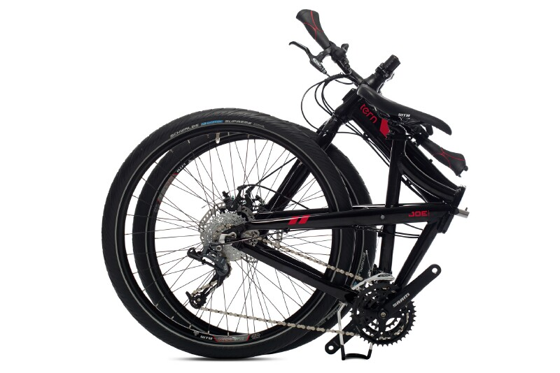 Tern Joe P24 folding bike - folded