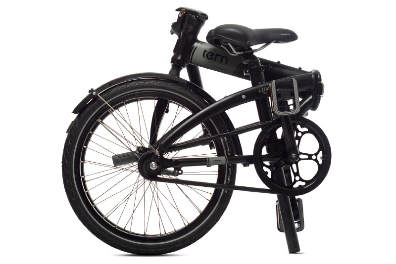 Tern Link Uno folding bike - folded