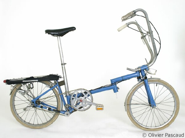 first Brompton folding bike prototype