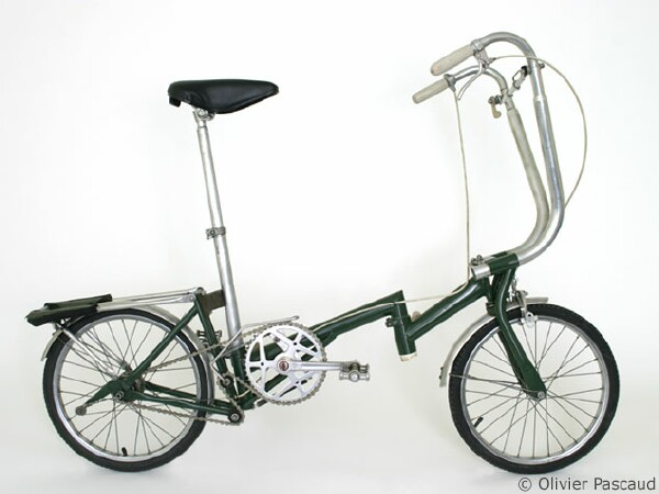 second Brompton folding bike prototype