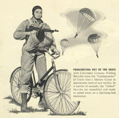 Columbia Compax paratrooper bicycle