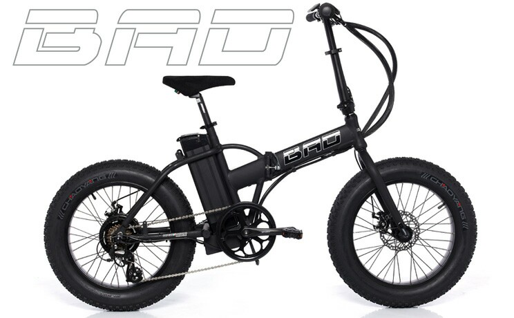 Fat Bad Electric Folding Bike