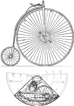 William Grout Portable Bicycle