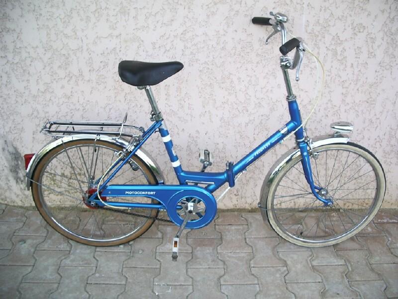 Motobecane folding bikes