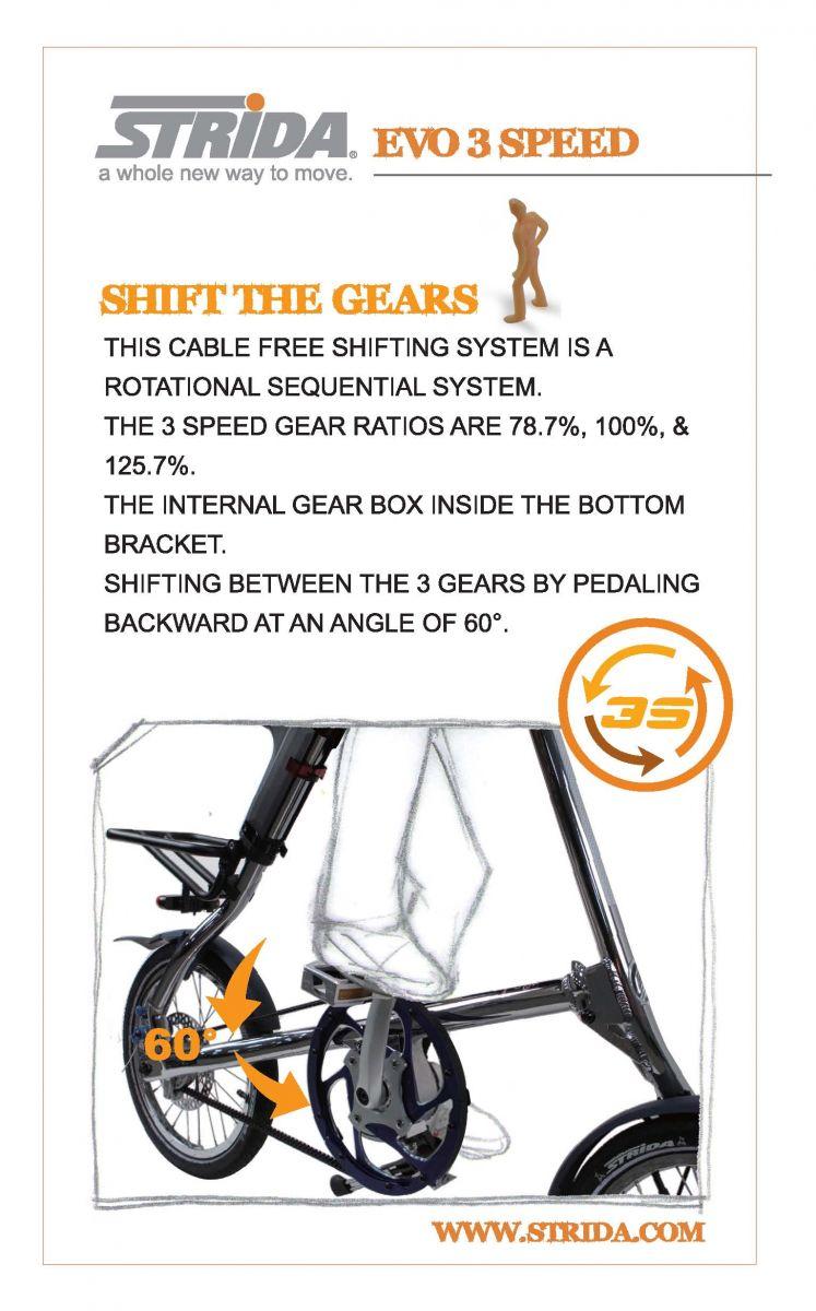 STRiDA EVO folding bike
